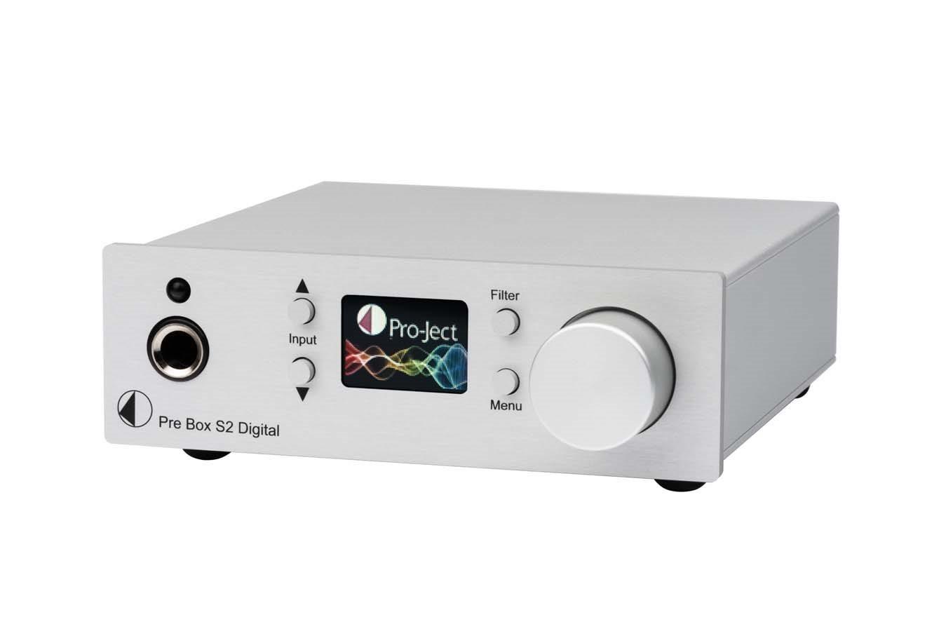 Black Pro-Ject USB Box S + Digital to Analog Converter Black