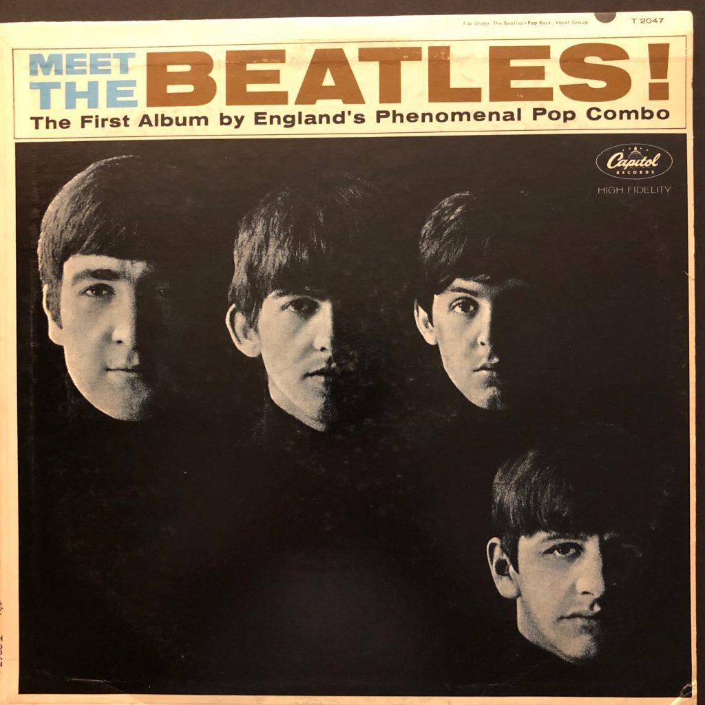 The Beatles Meet The Beatles Original Us Release Used